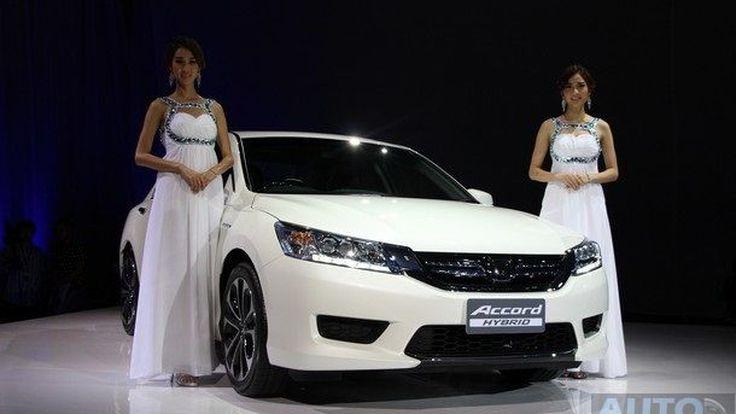 ชมภาพเปิดตัว พร้อมรายละเอียด Honda Accord Hybrid