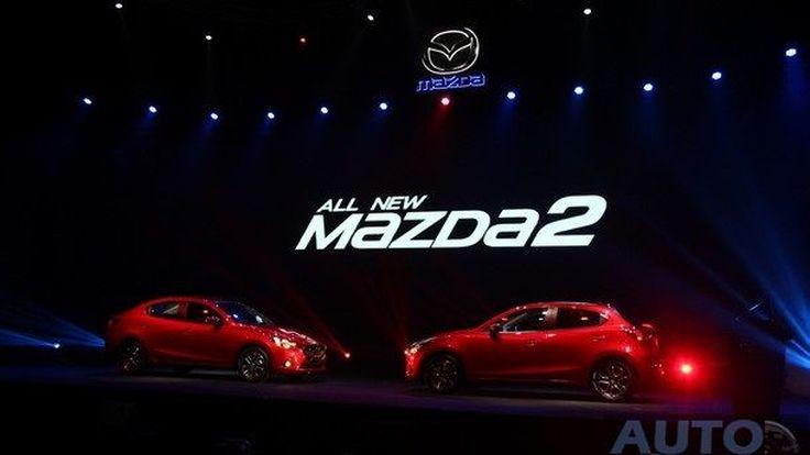 ชมภาพ และบรรยากาศงานเปิดสเป็กและราคา Mazda2 Skyactiv ใหม่ อย่างเป็นทางการ