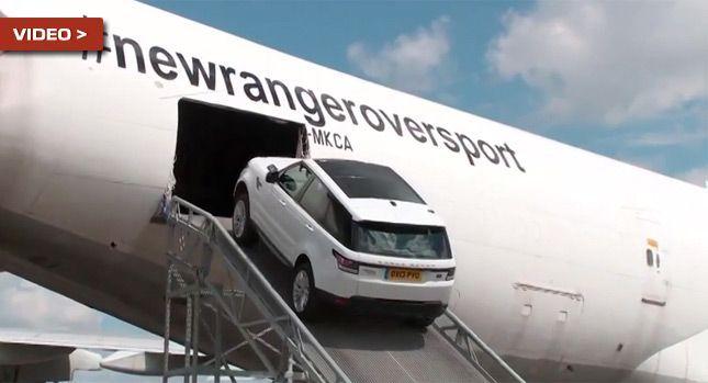 ชม Range Rover Sport ใหม่ โชว์สมรรถนะบนเครื่องบิน Boeing 747