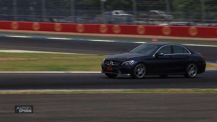 ชม VDO ทดสอบ New Mercedes-Benz C-Class ใหม่  ที่สนามช้างฯ บุรีรัมย์