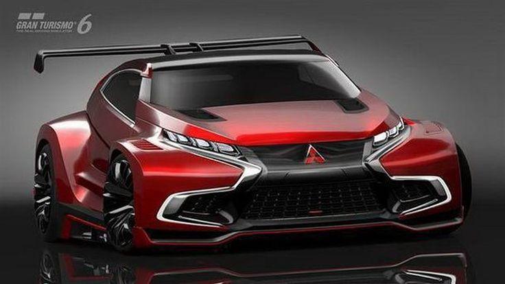 ทำความรู้จักว่าที่ Evolution XI  Mitsubishi XR-PHEV Evolution Vision GT เผยโฉมแล้วในเกม GT6