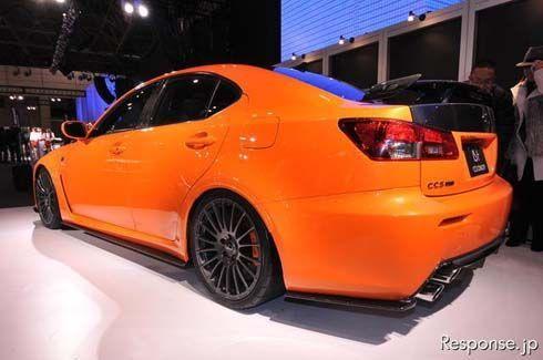 Lexus IS F Circuit Club Sport (CCS) โดย TRD จากชุดแต่งต้นแบบสู่การผลิตจริง