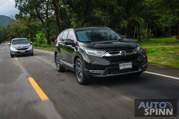 [Test Drive] รีวิว New Honda CR-V 2017ทั้งดีเซลเทอร์โบและเบนซิน สวยงามหรูหราลงตัวมากขึ้น