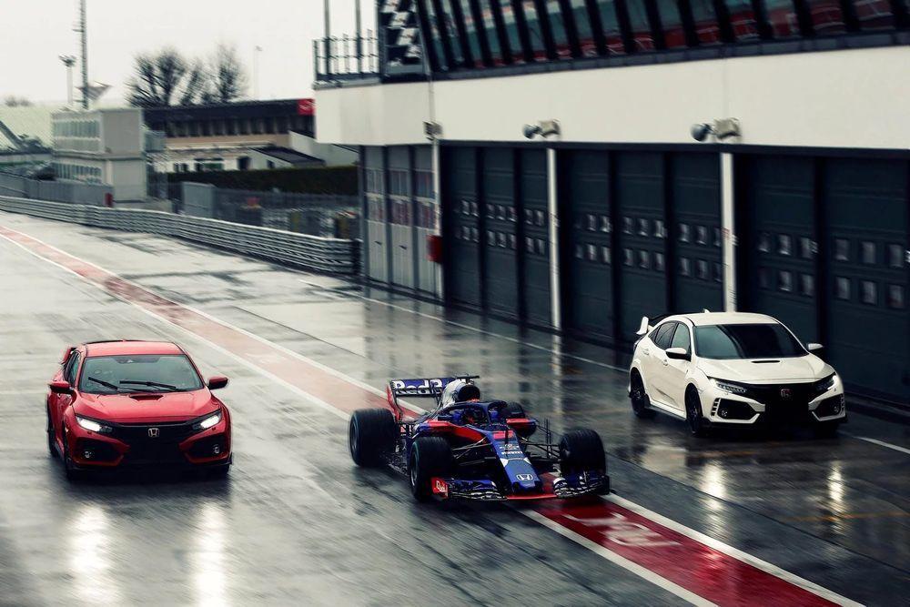 นักแข่ง F1 เลือก Honda Civic Type RS เป็นรถนอกสนามแข่ง