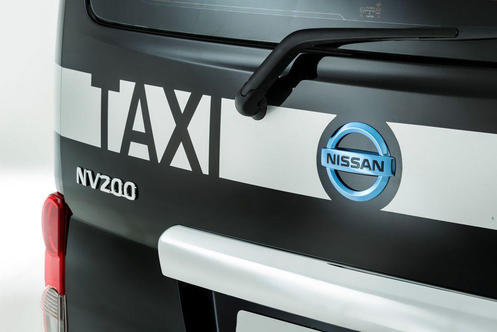 นิสสันเปิดตัวแท็กซี่สำหรับลอนดอน