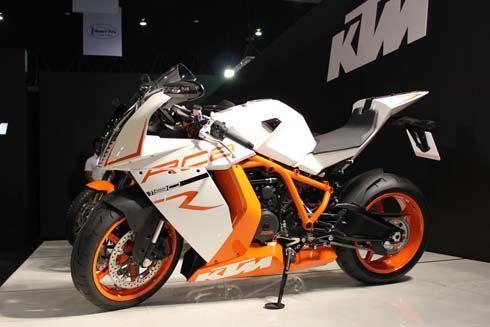 บิ๊กไบค์สุดเท่จากค่าย KTM ทั้งสปอร์ตและทัวร์ริ่งที่งาน 2011 Bangkok Motor Show