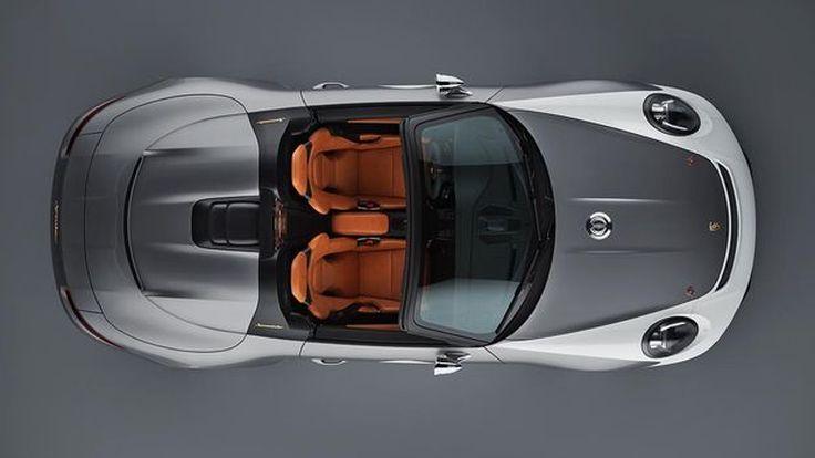 Porsche 911 Speedster Concept  สปอตพันธุ์แท้พร้อม พละกำลังกว่า 500 แรงม้า