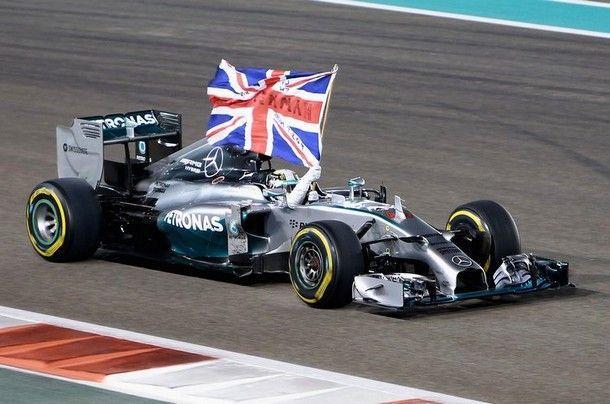 ปิดฤดูกาลแข่งขัน ฟอร์มูล่า วัน 2014, Formula F1   Hamilton  คว้าแชมป์โลกสมัยที่ 2 นำทีมเมอร์เซเดส แชมป์