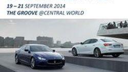 พบข้อเสนอ Maserati Ghibli และ Quattroporte ได้กิจกรรม Roadshow 19-21 กย. นี้