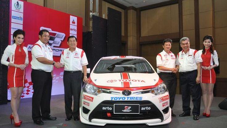 พาชมสเป็กรถแข่ง Toyota Motorsport 2013 แข่ง 5 สนามทั่วประเทศ กับ 1 สนามที่มาเลเซีย