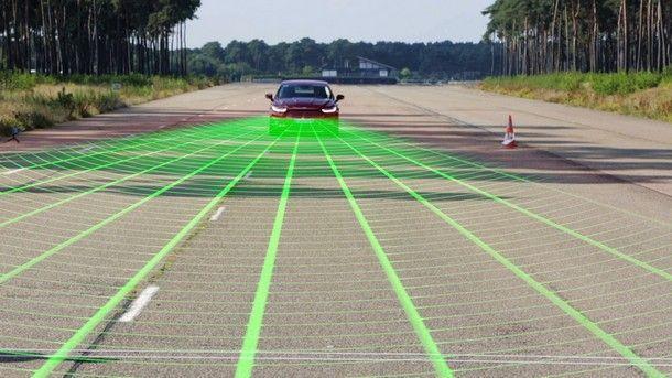 ฟอร์ดเผยเทคโนโลยี  'ระบบป้องกันการชนพร้อมสัญญาณตรวจจับคนเดินถนน'