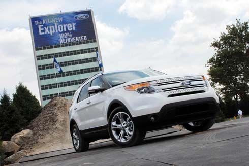 ภาพชุดใหม่ Ford Explorer SUV ใหญ่ รุ่นปี 2011 พร้อม Video แสดงเทคโนโลยีใหม่ล่าสุด