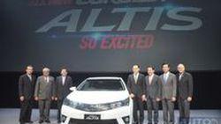 ภาพตัวจริง 2014 Toyota Corolla Altis ใหม่ เจนเนอเรชั่น 11  พร้อมย้อนรำลึกประวัติ Corolla