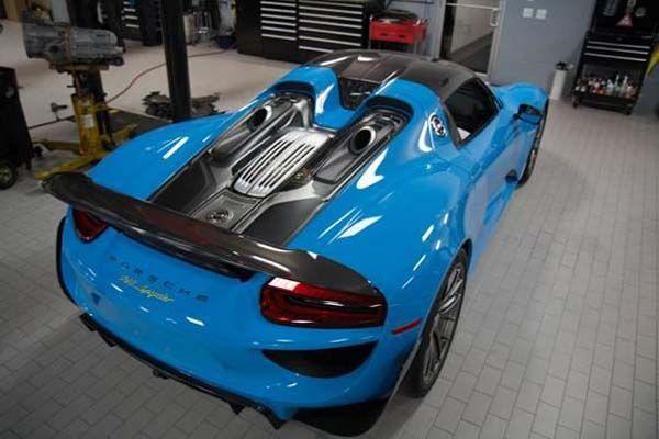 มาสักที Spec อย่างเป็นทางการ Porsche 918 Spyder