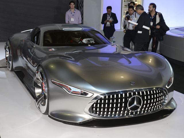 ยลโฉมรถต้นแบบจากเกมส์ GT6   Mercedes-Benz AMG Vision GT