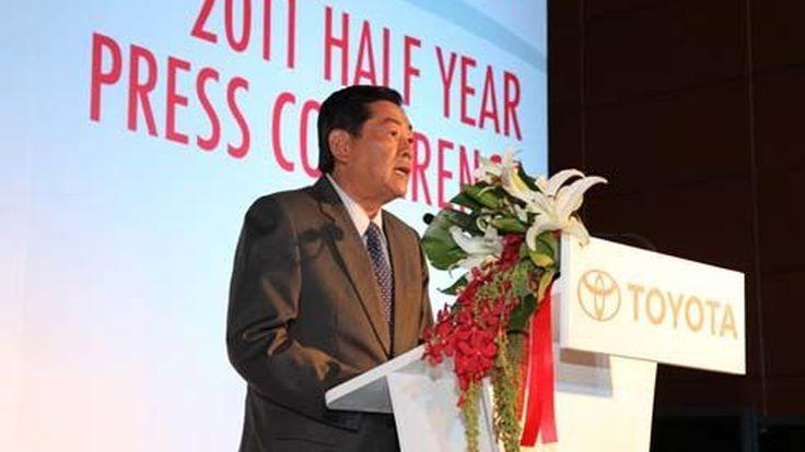 Toyota คาดปี 2554 เติบโตเพิ่มขึ้น ยอดขายรวม 900,000 คัน เพิ่มขึ้น 12.4%