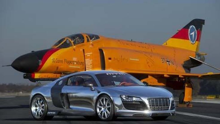 Audi R8 V10 Biturbo จาก MTM มีคิวไปเจนีวา หลังทำความเร็วสูงสุดได้ที่ 347.6 km/h