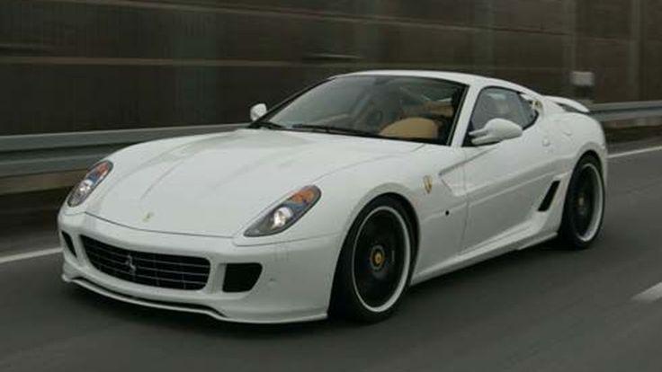 รถแต่ง Ferrari 599 GTB แตกต่างแบบ