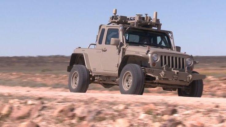 กองทัพสหรัฐกับระบบขับขี่ไร้คนขับสำหรับลำเลียงยุทโธปกรณ์