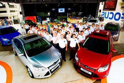 เปิดตัวพร้อมราคา Ford Focus 2013 ฟอร์ดโฟกัส โฉมใหม่ เริ่มต้นที่ 759,000 บาท