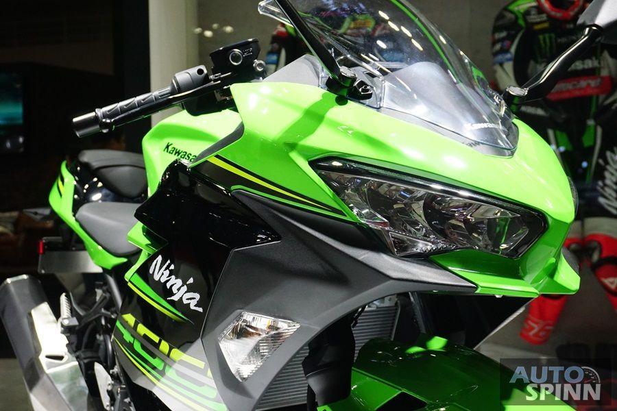 TIME2017: Kawasaki Ninja400 เคาะราคาเริ่มไม่ถึง 2 แสนบาทไทย พ่วง Ninja250 ใหม่มาด้วย