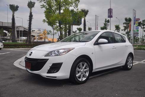 ราคาและสเปค 2012 Mazda3 มาสด้า 3 โฉมใหม่ เครื่องยนต์ 1.6 ลิตร