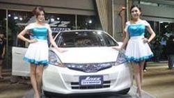 เปิดตัว Honda Jazz Hybrid 2013 ฮอนด้า แจ๊ส ไฮบริด รุ่นแรกในรถซับคอมแพคท์