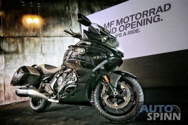BMW Motorrad ส่ง K1600B แบกเกอร์สุดหรูลุยตลาดเมืองไทยเคาะราคา 1.45 ล้านบาท