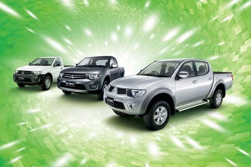 Mitsubishi เปิดตัว Triton Double Cab Plus CNG รับประกัน 3 ปีหรือ 1 แสนกิโลเมตร