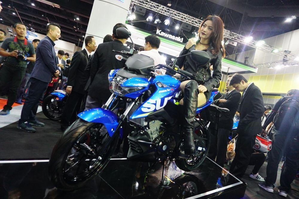 [BIG2017] เน็กเก็ตก็มา Suzuki GSX-S150 เวอร์ชั่นเปลือยของสปอร์ตไซส์เล็กจากซูฯ