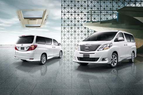 Toyota Alphard รุ่นปี 2012 ปรับปรุงใหม่ กับความลงตัวแห่งสุนทรีย์และดีไซน์ สำหรับผู้นำ