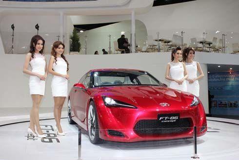 ส่องใกล้! Toyota FT-86 สปอร์ตคูเป้เพื่อมวลชน ราคาน่าเล่นที่ Bangkok Motor Show