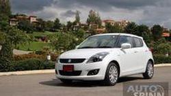 รีวิวทดสอบ Suzuki Swift RX  (ซูซูกิ สวิฟท์ อาร์เอ็กซ์) Sport Eco Car คันเดียวที่มาพร้อม Paddle Shift และ Cruise Control