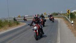 รีวิวเบาๆ  ขี่ Ducati Monster 796 Corse Stripe  ออกทริป กินลม  ช่วงสิ้นปี