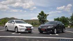 รีวิว  2014 Lexus ES300h ใหม่  Mid Sized Sedan   ที่หรูหรา นั่งสบายไม่แพ้รถเยอรมัน