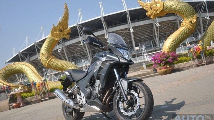 รีวิว Honda CB500X   Touring Bike ที่ขี่ง่าย นั่งสบาย พร้อมเดินทางไปกันทุกที่  ในราคาที่เอื้อมถึง