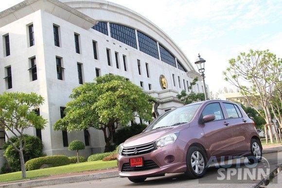 รีวิว Suzuki Celerio GLX  Eco Car ตัวจิ๋ว  ดีกรีส่งออก มาตรฐานโลก