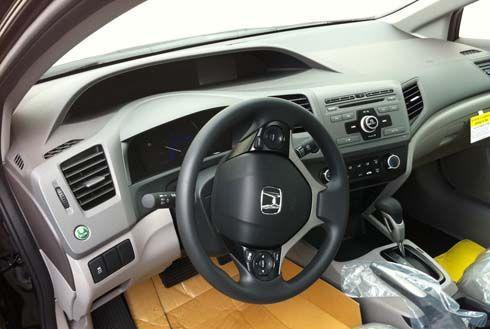 ส่องจะๆ Honda Civic 2012 ตัวใหม่ เวอร์ชั่นมะกัน แนบเนื้อภายในห้องโดยสารทุกจุด