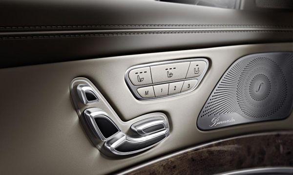 ละลานตา เผยห้องโดยสาร 2014 Mercedes-Benz S-Class มีสวิทช์ใช้งาน 156 แห่ง
