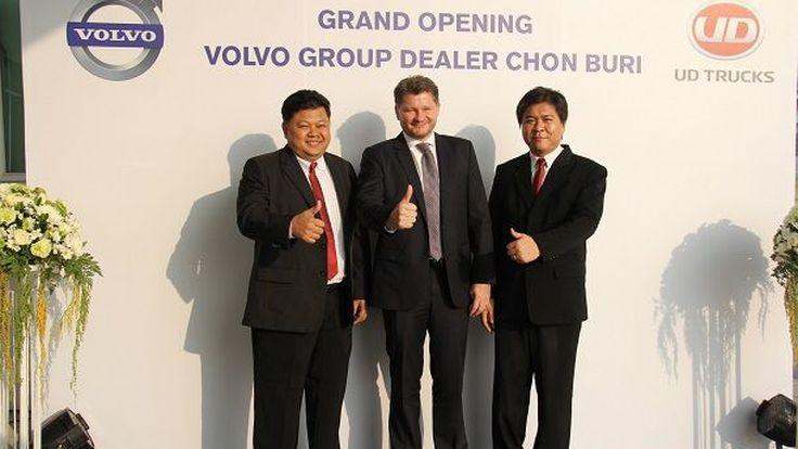 วอลโว่ กรุ๊ป Volvo เปิดโชว์รูมชลบุรี รับการเติบโตภาคตะวันออก