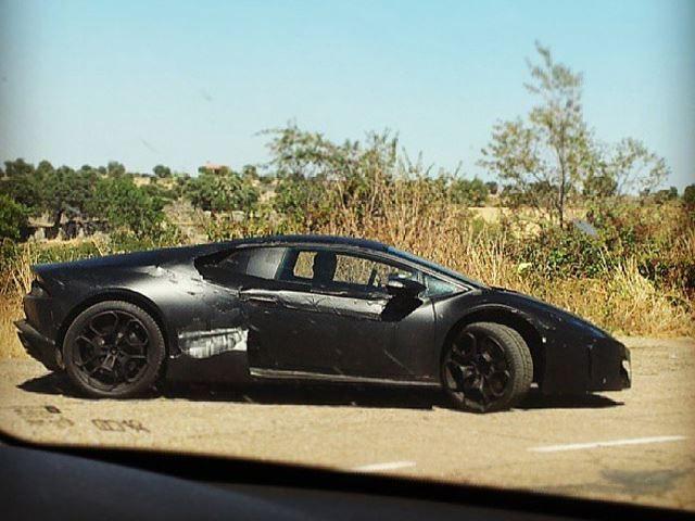 ว่าที่ Lamborghini New Gallardo (Cabrera) หลุดมาให้ชมอีกแล้ว ขณะที่กำลังทำการทดสอบ