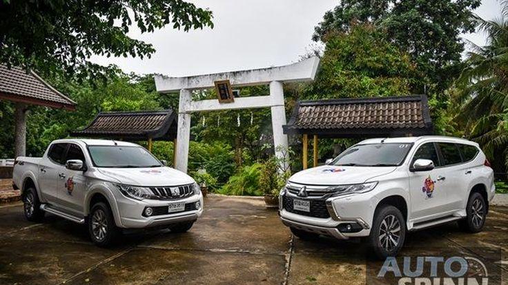 เที่ยวสวนญี่ปุ่นในเมืองกาญจนบุรี ฉลอง 130 ปี สามสัมพันธ์ไทย-ญี่ปุ่นกับ Mitsubishi Pajero Sport