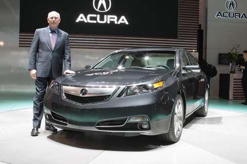 สัมผัส Acura TL รุ่นปี 2012 ใกล้ๆที่งาน Chicago Auto Show ผ่านภาพและคลิปวิดีโอ