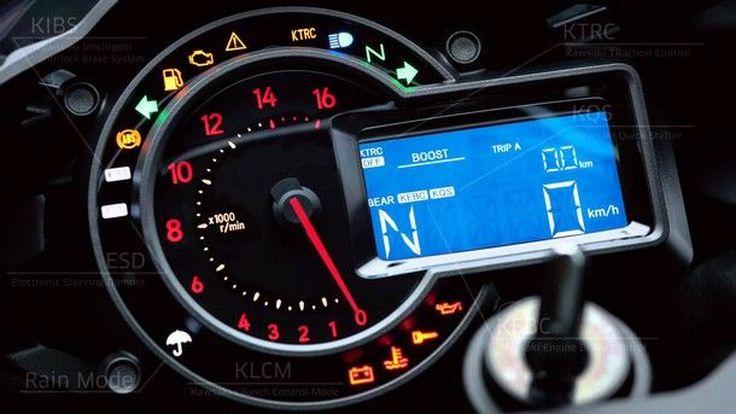 สุดเจ๋ง เชิญชมกันกับเทคโนโลยีบนหน้าปัทว์ ของ Kawasaki Ninja H2 ใหม่