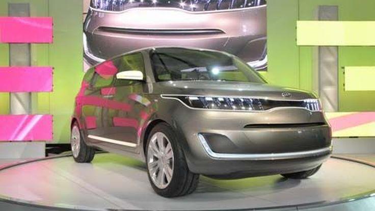 ส่อง Kia KV7 Concept รถอเนกประสงค์ประตูปีกนก Gullwing ที่งาน Detroit Auto Show