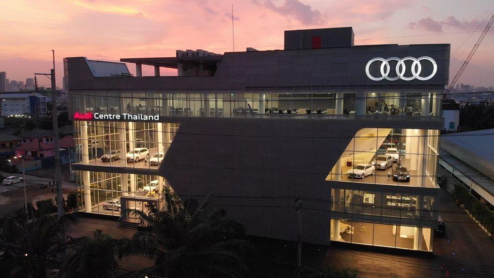 อาวดี้ ประเทศไทย ทุ่มทุนกว่าพันล้าน เปิดสำนักงานใหญ่ ครบวงจร ล้ำสมัยด้วยดีไซน์เทอร์มินัลคอนเซ็ปต์