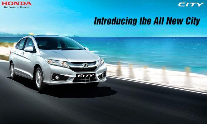 อินเดียเปิดตัวแล้วนะ 2014 Honda City  ซิตี้ใหม่  มี 5 รุ่นย่อย กับราคาเริ่มที่ 4.5 แสนบาท