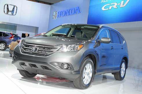 ชมกันยาวๆ Honda CR-V รุ่นปี 2012 อวดโฉมทรวดทรงกันเต็มๆใน 3 คลิปวิดีโอ