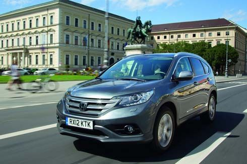 ชมภาพกันเต็มๆ Honda CR-V 2013 สเปกยุโรป มาพร้อมชุดแต่งเพิ่มความดุดันเล็กๆ
