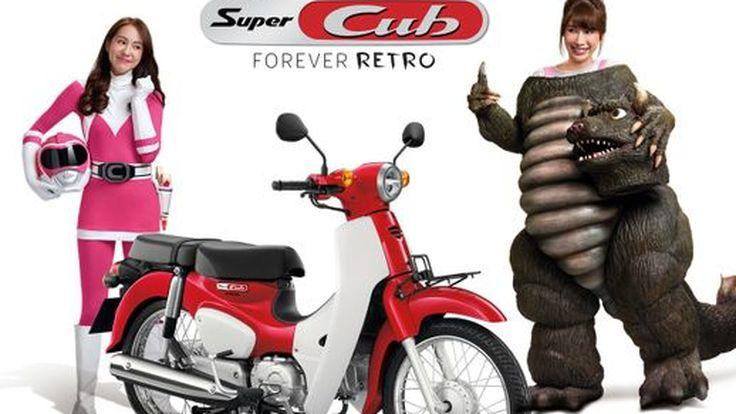 """ฮอนด้า เปิดตัวโฆษณา Honda Super CUB ชุดใหม่ ใช้ """"แจนจัง-พิมฐา"""" 2 เน็ตไอดอลดังแห่งยุคเป็นพรีเซนเตอร์"""
